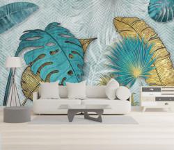 Fototapet, Frunze tropicale