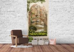 Fototapet, O curte veche din Veneția