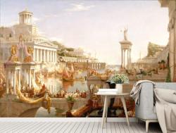 Fototapet, Roma antică