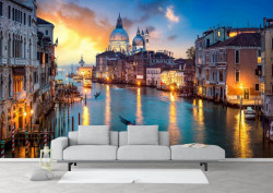 Fototapet, Veneția de seară