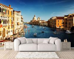Fototapet, Veneția la apusul soarelui
