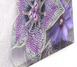 Multicanvas, Flori violete.