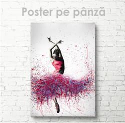 Poster, Balerină abtractă