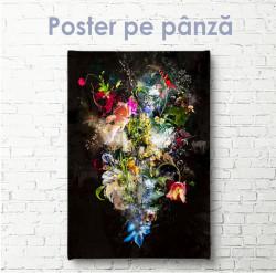 "Poster, ""Buchet XXIV"" Pictură de Theis Albers"