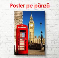 Poster, Cabina telefonică roșie
