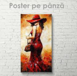 Poster, Fata de foc