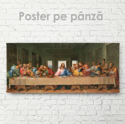 Poster, Isus cu ucenicii săi