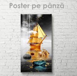 Poster, Nava de aur