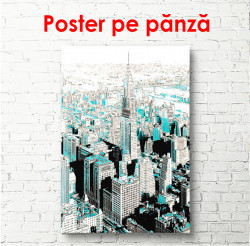Poster, New York abstract