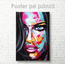Poster, Portert al unei fete