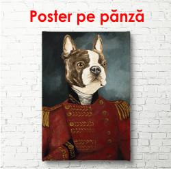 Poster, Portretul unui buldog