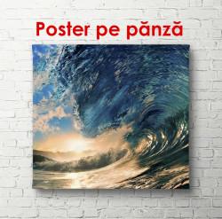 Poster, Valurile mării