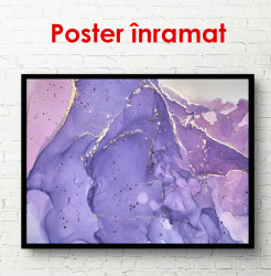 Tablou, Fundal texturat nuanță roz violet