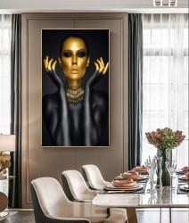 Tablou, În aur
