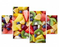 Tablou modular, Fructe proaspete
