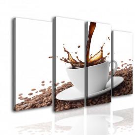 Tablou modular, O ceașcă mică de cafea.