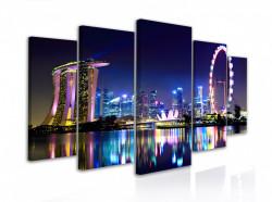 Tablou modular, Singapore este orașul viitorului
