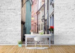 Fototapet, Clădiri multicolore
