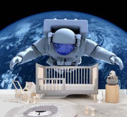 Fototapet, Cosmonaut în spațiul cosmic
