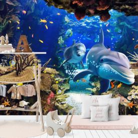 Fototapet Mare, Frumos regat subacvatic