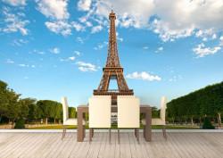 Fototapet, O zi liniștită în Paris