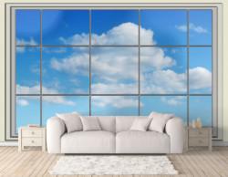 Fototapete, Nori în afara ferestrei