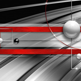 Multicanvas, Abstracția roșu-gri.