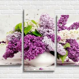 Multicanvas, Vază cu liliac