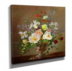 Poster, Buchet de flori multicolore