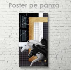 Poster, Caii care aleargă
