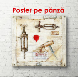 Poster, Colecție pentru iubitorii de vin