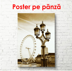 Poster, Londra retro