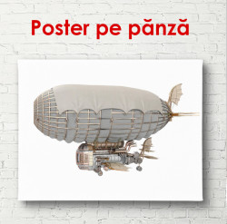 Poster, Model de Dirijabil