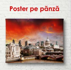 Poster, Orașul frumos și cerul