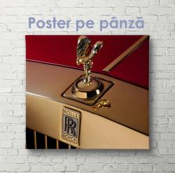 Poster, Rolls Royce
