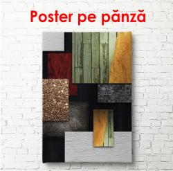 Poster, Texturi din diferite materiale