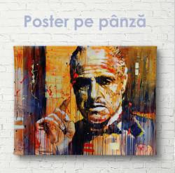 Poster, Un domn serios