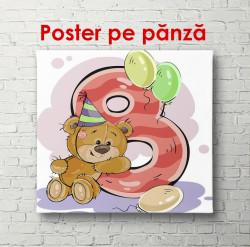 Poster, Ursul cu numărul 8