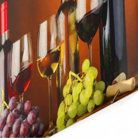 Tablou modular, Sticle de vin