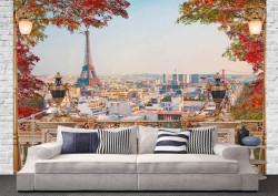 Fototapet, Toamna în Paris