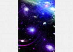 Fototapet Astronomie, Glaxie albastra