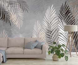 Fototapet, Frunze de palmier tropical