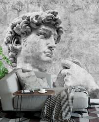 Fototapet, Statuia romană