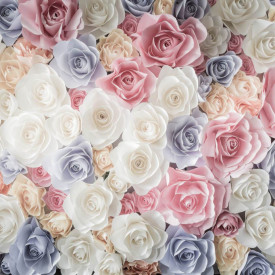 Fototapet, Un covor de trandafiri