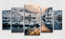Multicanvas, Lacul în munte