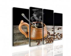 Multicanvas, O ceașcă cafenie cu cafea
