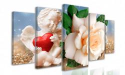 Multicanvas, Trandafirul gingaș și Înger