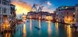 Multicanvas, Veneția de noapte.