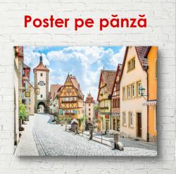 Poster, Curtea de basm cu case
