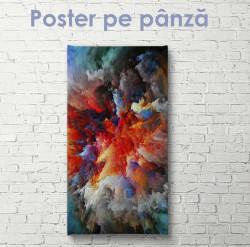 Poster, Explozie de culori